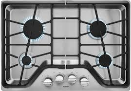 30 Inch 5 Burner Gas Cooktop Kitchen Whirlpool 30 Gas Cooktop Built In Stainless Steel Black