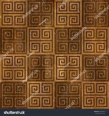 abstract paneling pattern decorative mosaic oriental stock