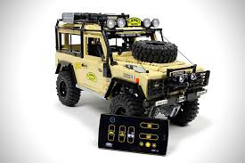 lego toyota prototype lego rc land rover defender video drivr drivr