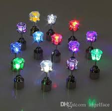 led earrings 2018 crown diamond led earrings led glowing light up earrings ear