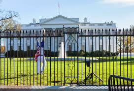 white house thanksgiving fence jumper is a american that