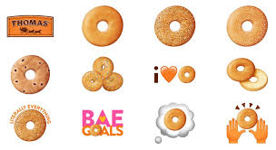 android emoji bagels launched a breakfast themed emoji keyboard on ios