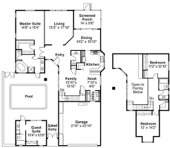 house plan with guest house marvellous guest house plans without garage gallery ideas house