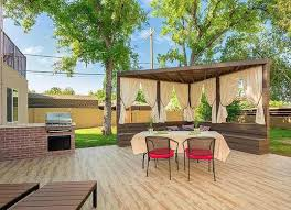 outdoor patio curtains backyard privacy ideas 11 ways to add