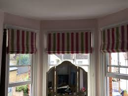 latest roman blinds bay window models about ba 10805