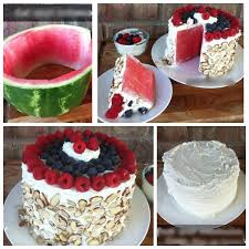 cake diy wonderful diy no bake watermelon cake