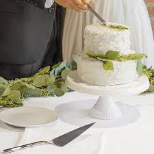 wedding cake stand wedding cake stand cake server set personalized