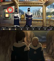 i just noticed katara u0027s necklace in the wtrc game where it tells