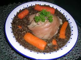 cuisine jarret de porc jarret de porc aux lentilles cuisine jarret de porc aux