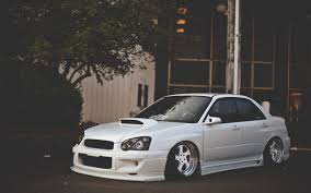 subaru wrx modified wallpaper subaru impreza white tuning car 6989409