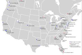 Mls Teams Map 2011 In American Soccer Wikipedia