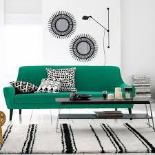 canapé vert inspiration je veux un canapé vert madame dé