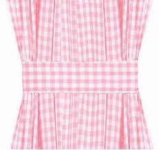 gingham check french door curtain panels