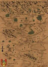 Medieval Maps Freelance Artist Cartographer Available For Commissions