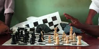 Ancient Chess Set Bbc Travel The Ancient Game That Saved A Village