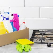 what is the best thing to clean kitchen cabinets with how to clean a stove top the home depot