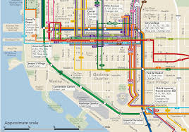 Greyhound Routes Map by San Diego Trolley Sci Fi Elements