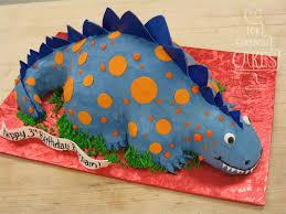 dinosaur cake blue dinosaur cake for goodness cakes of
