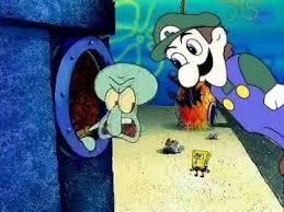 Know Your Meme Weegee - youtube poop the sky had a weegee spongebob squarepants know