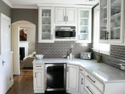White Kitchen Cabinets With Glass Doors Modern White Kitchen Glass Cabinets My Home Design Journey