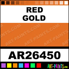 red gold archival oil paints ar26450 red gold paint red gold