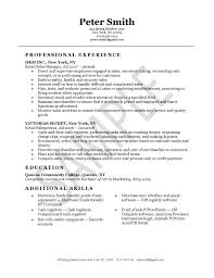 Resume Template Customer Service Sample Resume For Customer Service Retail Qualifications Resume