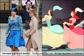 Princess Beatrice Hat Meme - princesses eugenie and beatrice totally look like the ugly
