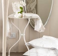 fer forgé chambre coucher chambre à coucher guéridon fer forgé blanc chambre romantique
