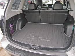 subaru camping trailer 09 u002713 made cargo area cubbies useful subaru forester owners forum