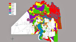 Riverside Zip Code Map by Do You Live In A Flooding Evacuation Zone