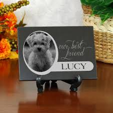 dog memorial personalized pet memorial marble plaque