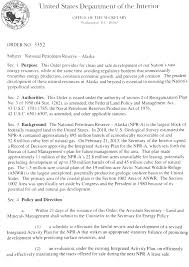 Interior Resources Federal Register Final Report Review Of The Department Of The