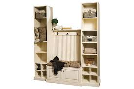 Bookcase To Bench Carolina Hall Entryway Bench Set From Dutchcrafters Amish Furniture