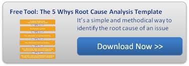 Root Cause Analysis Excel Template Webinar 5 Whys Root Cause Analysis On Customer Feedback