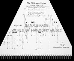 Play The Old Rugged Cross Hymns Book World Of Harmony Music