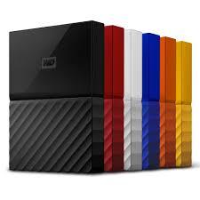 2017 Design Colors My Passport Portable Hard Drive Western Digital Wd