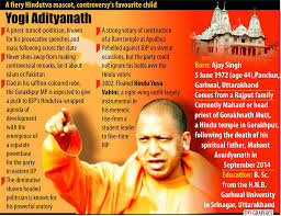 Central Cabinet Ministers Up Cm Swearing In Live Yogi Adityanath To Take Charge Shortly