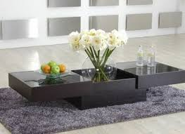 Designer Center Tables Contemporary Coffee Table With Storage And - Designer center table