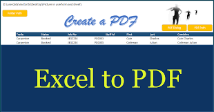 create a pdf in excel excel to pdf online pc learning