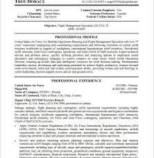Federal Government Resume Builder Federal Government Resume Template Resume Example