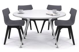 Office Meeting Table San Fran Large Meeting Table Chrome Legs