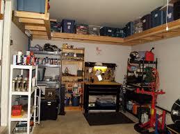 one car garage workshop one car garage organization ideas home design inspirations