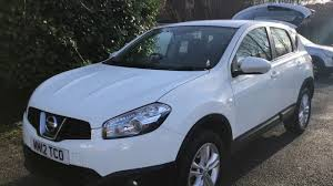 nissan suv white for sale 12 plate nissan qashqai white youtube