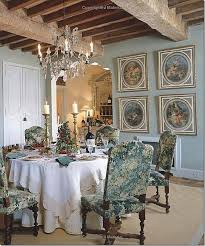 french blue dining room 7714