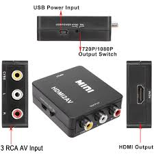 rca dvd home theater system with hdmi 1080p output youzee hd video converter box hdmi to rca av cvbs l r 1080p