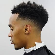 haircuts for black men with curly hair low fade haircuts