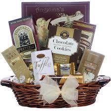 amazon com chocolate delights gourmet chocolate gift basket