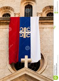 Church Flags Flag Of The Serbian Orthodox Church Stock Image Image 29976479