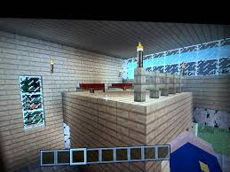 my minecraft on ps3 l birch house loft the interior right wall add