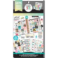 create 365 the happy planner fitness value pack stickers